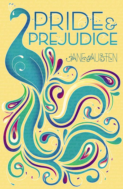 Book Cover Illustration Artist : Dailylit pride and prejudice by jane austen
