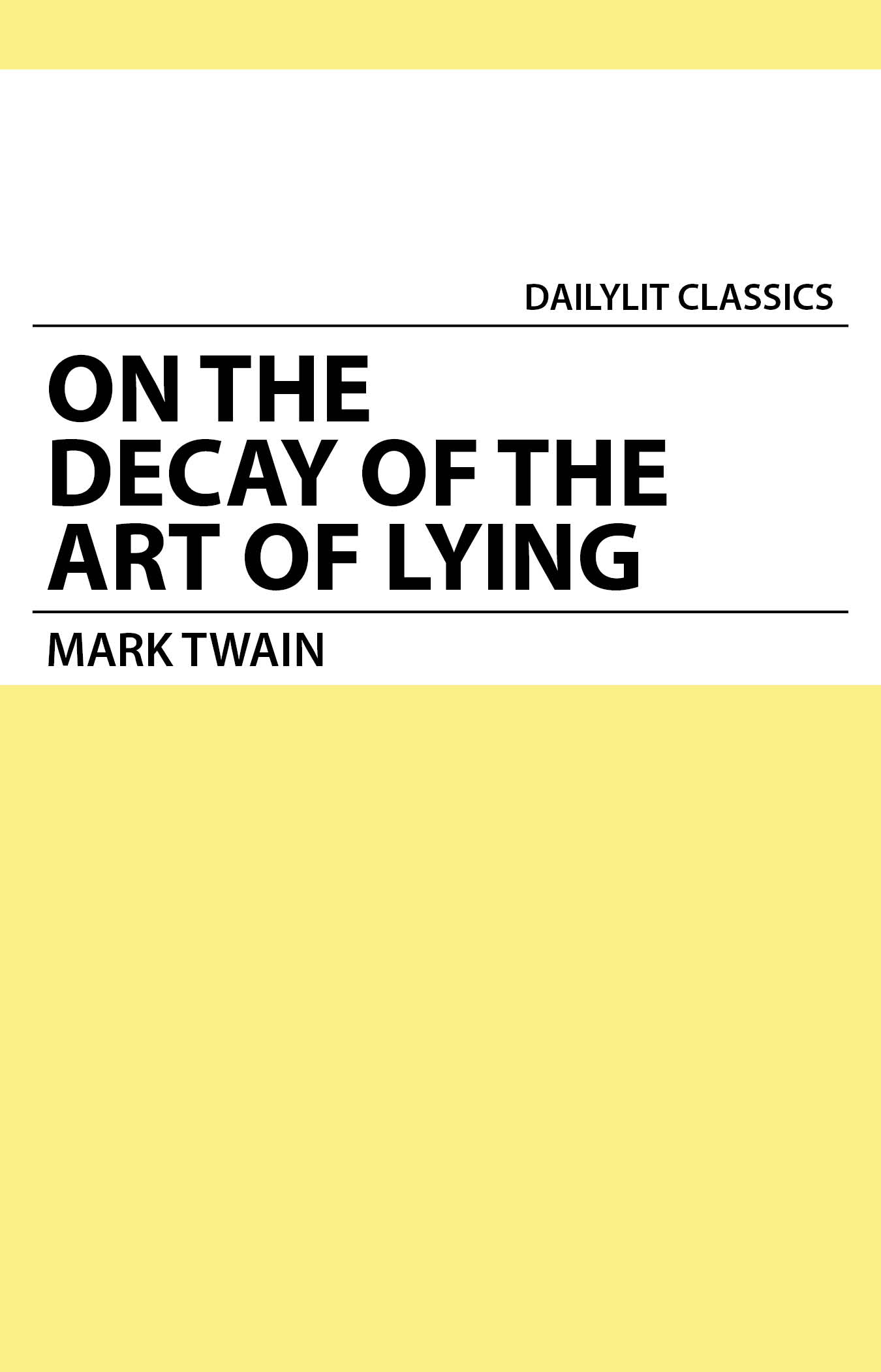analysis of twains on the decay This student essay consists of approximately 4 pages of analysis of rhetorical analysis of mark twain's the adventures of huckleberry finn.
